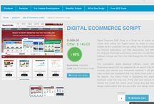 Digital Ecommerce Script / PHP scripts mall provides digital ecommerce script to showcase your business online.