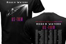 ROGER WATERS TOUR DATES 2016/2017 BLACK T-SHIRT ALL SIZE AVAILABLE