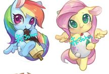 My little pony. / Ponys and ponys...