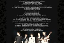 One Direction 30 Day Challenge / by Caitlin Williams