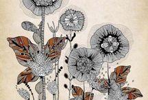 Illustration & Design / A collection of beautiful illustrative designs