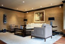 Michelle's Interiors Entertainment Room /  Entertainment Room / by Michelle Rohrer-Lauer