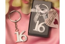 Sweet 15/16 / Sweet sixteens may be extremely formal, casual, or semi-formal; they can range from modest parties at home with close family and friends to large affairs with a hired DJ, makeup and hair stylists, yachts and hotel ballrooms.  http://discountweddingfavors.com/61-sweet-15-16-wedding-favors / by Laura Scott