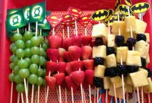 Justice League Party Ideas / NEW Justice League superheros themed birthday party decorations & tableware – Superhero characters, Batman, Green Lantern, Superman and The Flash party decorations, and Justice League party balloons and Party Ideas - http://bit.ly/1Q7fysH