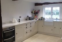 Country Cottage. Kitchens.