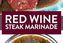 Red wine marinade