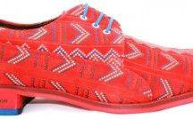 Kleurrijke en markante schoenen / Kleurrijke en markante schoenen. Schoenen voor mannen die durven!