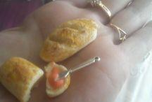 мои магниты / люблю создавать кулинарный мир в миниатюре.