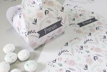 // BOÎTES À BONBONS // / Retrouvez tous les designs des boîtes à bonbons de Madame Tsé-Tsé !