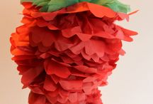 Hot chili pepper tissue paper