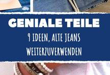 Jeans schneiden