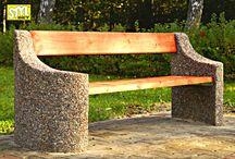 Ławki i siedziska