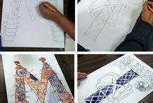 Jr High Art Ideas