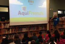 AquiFriends / A Super Aquifer Scientist will take students on a journey through the zones of the aquifer