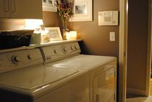 Laundry room / by Lisa McMillen