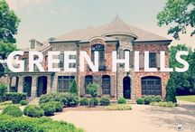 Homes (Green Hills) / Green Hills is an exciting destination for day or night.  Upscale restaurants and retail establishments are found throughout the area.  Green Hills is located in close proximity to I-440, Belmont, Lipscomb and Vanderbilt Universities, as well as Music Row and Downtown Nashville.  Residents live in mostly 1950s Ranch style homes on larger lots. Many of the homes have been updated, and new homes have been built on older home lots.  The area is a  great mix of old and new.