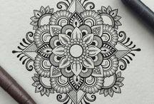 Mandala drawings!!!