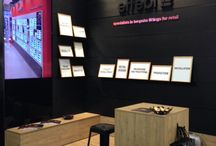Retail Design Expo / #RetailDesignExpo has opened the doors! We are glad to show you our stand. A special thanks to Gianluca Conrotto Architect of the Conrotto Progetti Studio for the #design.