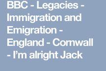 Cornish Emigration