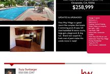 Real Estate Open House / Showcasing potential future homes