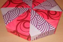 cajas / cajas de origami