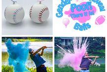 Baseball Gender Reveals / Baseball Gender Reveals