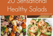 Healthy way of living and eating / Healthy food to be good in shape and to feel healthy