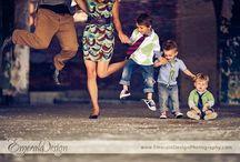 Posing: Families