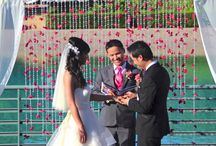 Soka University Wedding White Dove Release 714 903-6599 / White Doves at Soka University Weddings