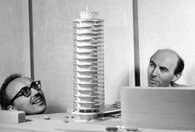 TORRE PER UFFICI / Genova – 1955 Architettura: Angelo Mangiarotti e Bruno Morassutti Strutture: Aldo Favini