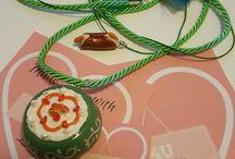 Collane / masa flexible cold porcelain porcelana fria fatto4u 4u hand made hecho a mano collar collana necklace collane fimo polimer polyclay clay