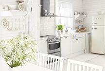 Brocante (eet) keuken / In een brocante keuken ga je voor even helemaal terug in de tijd!