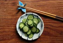 Food - Tsukemono / Japanese pickles. When your tastebuds need to go on an adventure