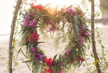 Wedding: Polynesian Escape / Colors: coral, turquoise, island green Inspiration: sunsets, hibiscus, exotic fruits, adventure