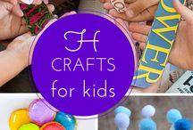 kids crafts / by Jessica Ballard