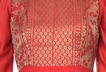 Dresses / Red songket