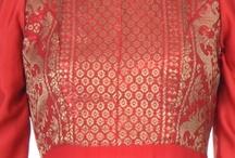 Dresses / Red songket