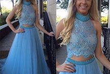 Two Piece Ball Dresses