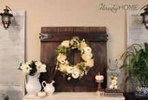 Fall Decor at its Finest / The finest fall decor ideas around!