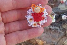 Minidoll pin