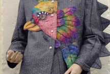 Cheryl Bridgart's Art to wear / Embroidered & tailored bespoke garments