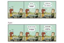 Terra chiama Luna (Webcomic / Comic strips)