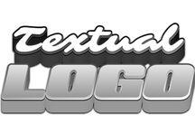 Textual Logos