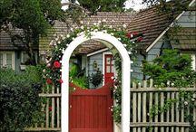 Gate trellis