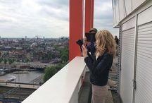 Master studenten Cinematic City doen onderzoek in Amsterdam