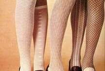 60's-70's shoes & tights