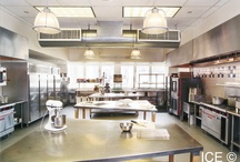 ICE Facilities / To offer our students the best possible education, we've designed a state of the art 43,000-square-foot facility. It features 11 teaching kitchens, a demonstration kitchen, three traditional classrooms and a wine studies center.