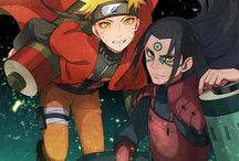 Hashirama and Naruto