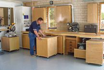 10 Ways to Turn your Shed in the Perfect Workshop / So, you want to transform your garage or shed into a workshop? We did the homework for you and compiled a list of things to know to create the perfect workshop.