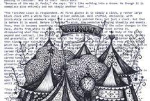 New circus sketchbook